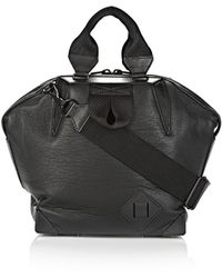 Alexander Wang Small Emile Tote in Black Neoprene with Matte Black - Lyst