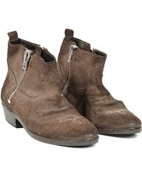 Golden Goose Deluxe Brand Cowboy Boots - Lyst