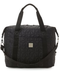 Nicole Miller - Black City Life Quilted Bag - Lyst