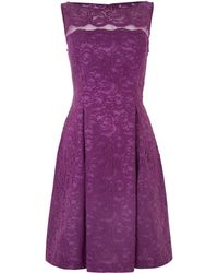 JS Collections Illusion Lace Prom Dress - Lyst