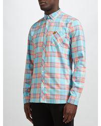 Lyle & Scott - Long Sleeve Check Shirt - Lyst