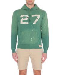 Ralph Lauren Faded 27 Jersey Hoody - For Men - Lyst