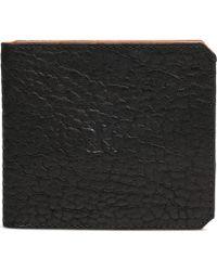 Parabellum | black Black Leather 6 Card Wallet | Lyst