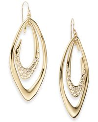 Alexis Bittar Pavã© Crystal Double Marquis Drop Earrings - Lyst