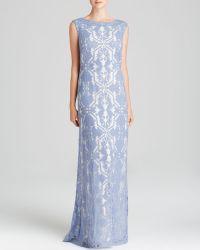 Tadashi Shoji Gown - Sleeveless Lace - Lyst