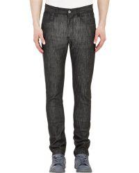 Raf Simons Five-Pocket Jeans black - Lyst