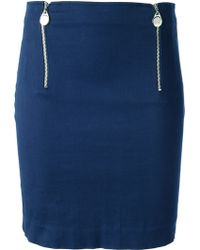 Jean Paul Gaultier Mini Pencil Skirt - Lyst