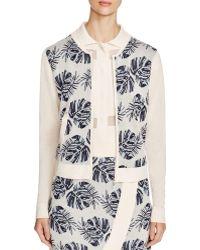 Romy & Ray - Isa Leaf Jacquard Jacket - Lyst