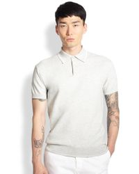 Atelier Scotch Cotton Polo Shirt - Lyst