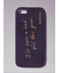 Bebe - Been A Bad Girl Iphone Case - Lyst