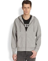 Blk Dnm Hooded Zip Sweatshirt - Lyst