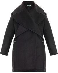 Kenzo Oversized Wool-Blend Coat - Lyst