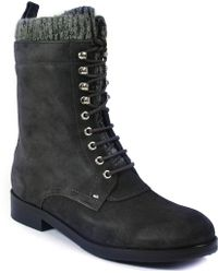 Belle By Sigerson Morrison | Flat Boot | Lyst