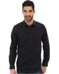 Calvin Klein Yarn Dyed Fine Check Woven Shirt - Lyst