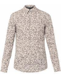 Jil Sander Camouflageprint Shirt - Lyst