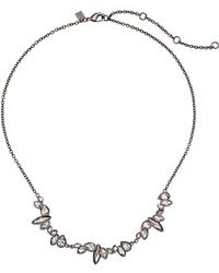 Alexis Bittar Triple Marquis Cluster Pendant Necklace - Lyst