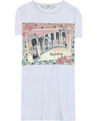 Stella McCartney Printed Cotton T-shirt - Lyst
