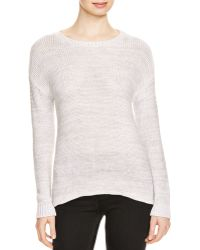 Aqua - Cooper Twist Slash Back Jumper - Lyst