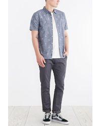 Vans Plo Short-sleeve Button-down Shirt - Lyst