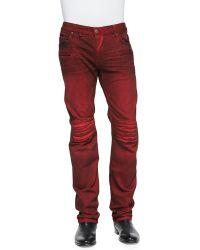 Robin's Jean 3d Denim Moto Pants - Lyst