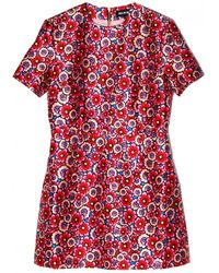 House of Holland Boogie Dress red - Lyst