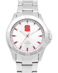 Jack Mason Brand - 'nc State University Wolfpack' Bracelet Watch, 44mm - Lyst
