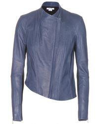 Helmut Lang Cluster Leather Jacket - Lyst