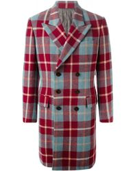 Jean Paul Gaultier 'Like A Prayer' Tartan Coat - Lyst