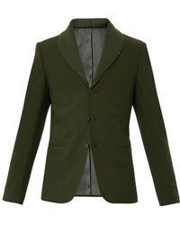 Bottega Veneta Wool and Angorablend Blazer - Lyst