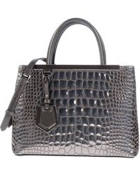 Fendi Handbag gray - Lyst
