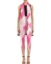 Lisa Perry Loveprint Scarf - Lyst