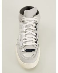 Alejandro Ingelmo Tron Midtop Sneakers - Lyst