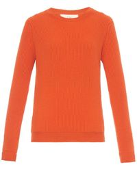 Esk Maggie Ribbed-Knit Cashmere Sweater - Lyst