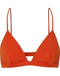 T By Alexander Wang Ponte Bra Top - Lyst