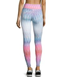Charlie Jade - Ruched-sided Ombre Leggings - Lyst