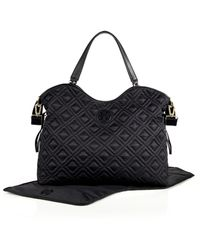 Tory Burch Marion Quilted Nylon Baby Bag black - Lyst
