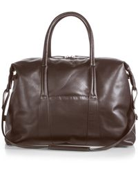 Maison Margiela Sailor Leather Weekend Bag - Lyst