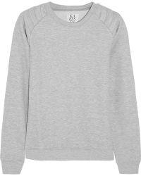 Zoe Karssen Cotton-blend Jersey Sweatshirt - Lyst