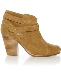 Rag & Bone   Harrow Suede Ankle Boots   Lyst