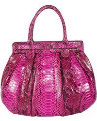 Zagliani Puffy-Bag pink - Lyst