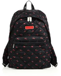 Marc By Marc Jacobs | Cherry-print Quilted Textile Backpack | Lyst