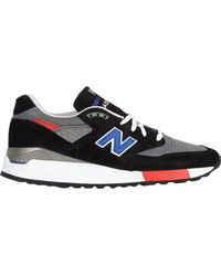 New Balance Multicolor 998 Sneakers - Lyst