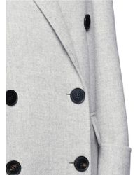 Alexander McQueen | Double Breasted Wool-cashmere Coat | Lyst