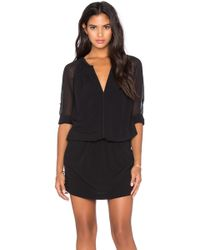 IKKS - 3/4 Sleeve Dress - Lyst