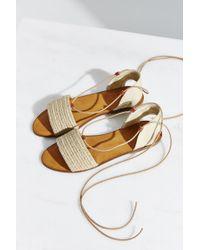Ecote | Lace-up Slide Sandal | Lyst