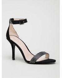 Pelle Moda Black Kacey Sandals - Lyst