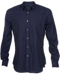 Paul Smith Slim Fit Tonal Shirt - Lyst
