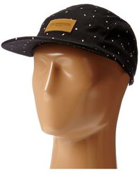 Obey Milton 5 Panel Hat - Lyst