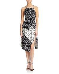 Tanya Taylor Crawford Silk Printed Dress - Lyst