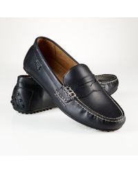 Polo Ralph Lauren Leather Wes Penny Loafer - Lyst